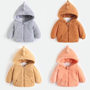 儿童羽绒棉服男童女童宝宝冬装棉袄中小童婴儿棉衣外套反季加绒款