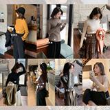 彬ge大表姐半高领打底毛衣女2020年冬新款韩版修身内搭加厚针织衫
