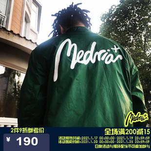 Medria 教练夹克原创国潮外套嘻哈潮牌男女情侣运动服 秋冬Vol.2