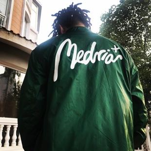 Medria+ 秋冬Vol.2 教练夹克原创国潮外套嘻哈潮牌男女情侣运动服