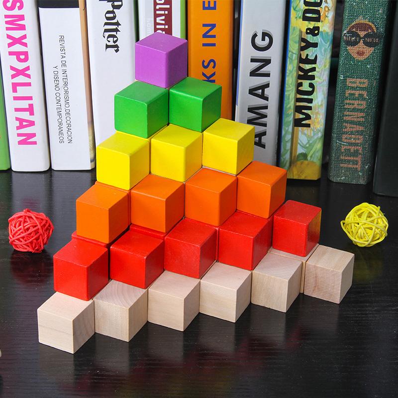 正方体立方体小方块数学教具积木