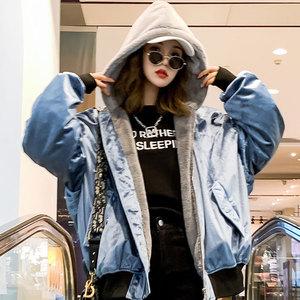 棉衣女士外套2020秋冬新款女装加厚短款棉服韩版潮流羽绒冬装棉袄