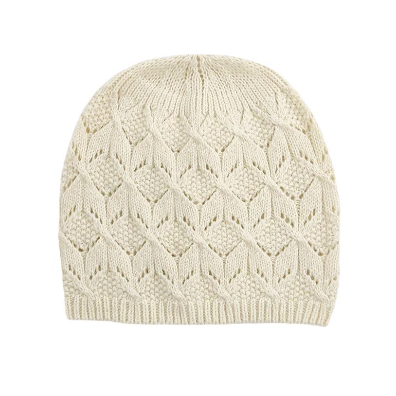 羊毛棉毛线针织帽女秋冬季包头西瓜帽地主帽纯色花纹百搭薄款帽子图片