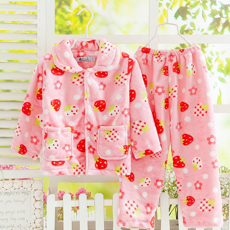 法蘭絨珊瑚絨家居服套裝