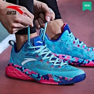 安踏篮球鞋男鞋子低帮官网汤普森kt3夏季网面透气kt4星轨5运动鞋6品牌