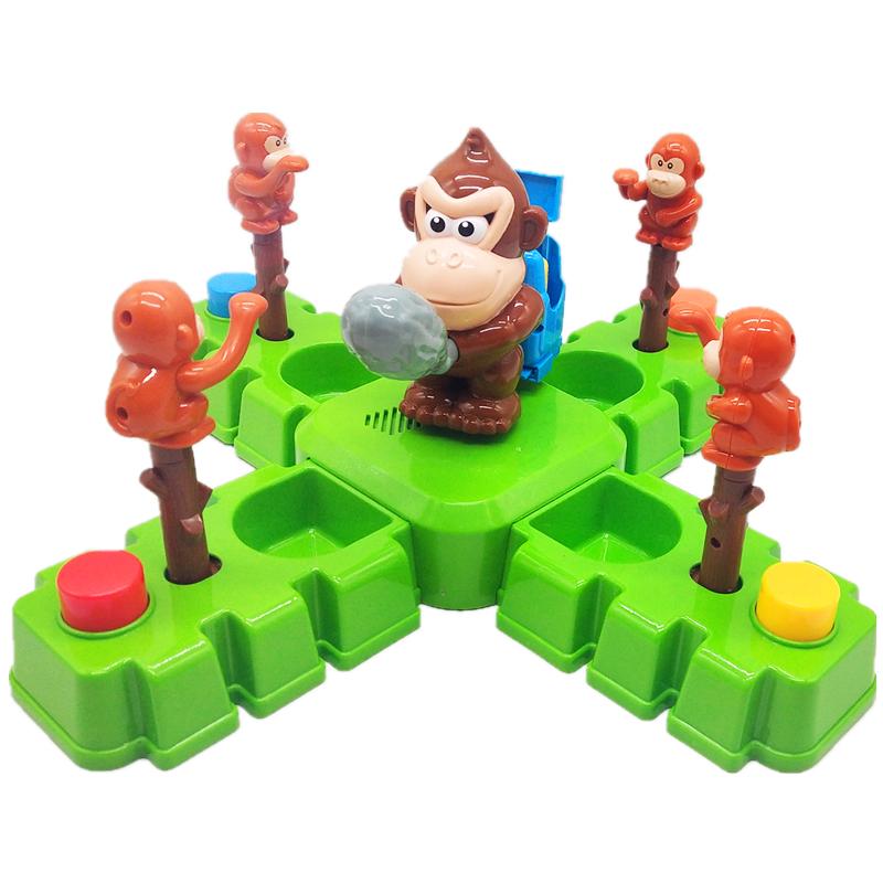 文盛夺宝猴兵 猴子骑兵偷金币桌面竞技游戏亲子互动 益智儿童玩具