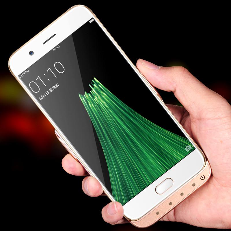 OPPO R9S背夹电池套R11splus专用外置手机壳充电宝便携式超薄冲器