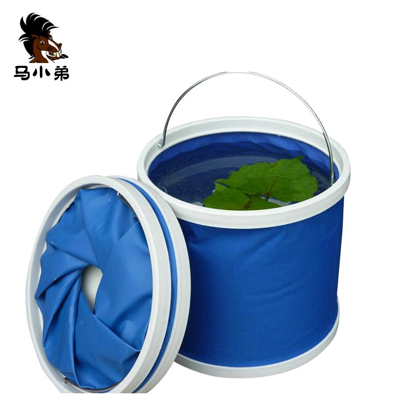 洗车水桶便携式车载可折叠水桶多功能户外钓鱼储水桶汽车用品超市