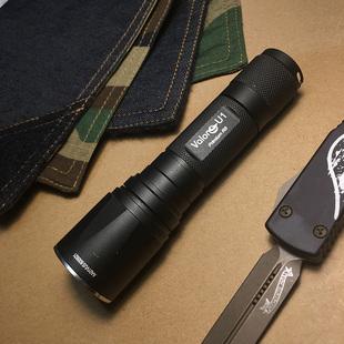 款强光手电筒18650战术手电筒U1Valon清仓特价
