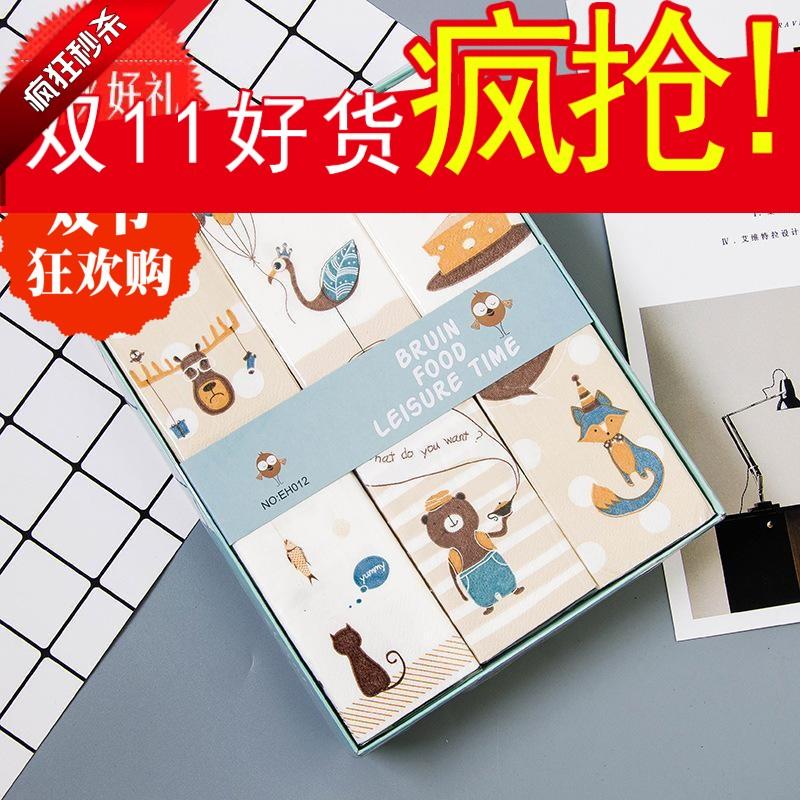 特价优质创意 印花手帕纸小包纸巾熊先生朋友礼盒抽纸商用擦手纸