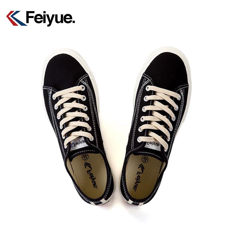 飞跃帆布鞋复古日系女原宿风新款低帮休闲鞋feiyue男鞋情侣鞋621