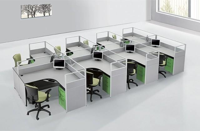 沈陽易萊特辦公家具辦公桌椅屏風隔斷式辦公桌卡位員工工作卡座