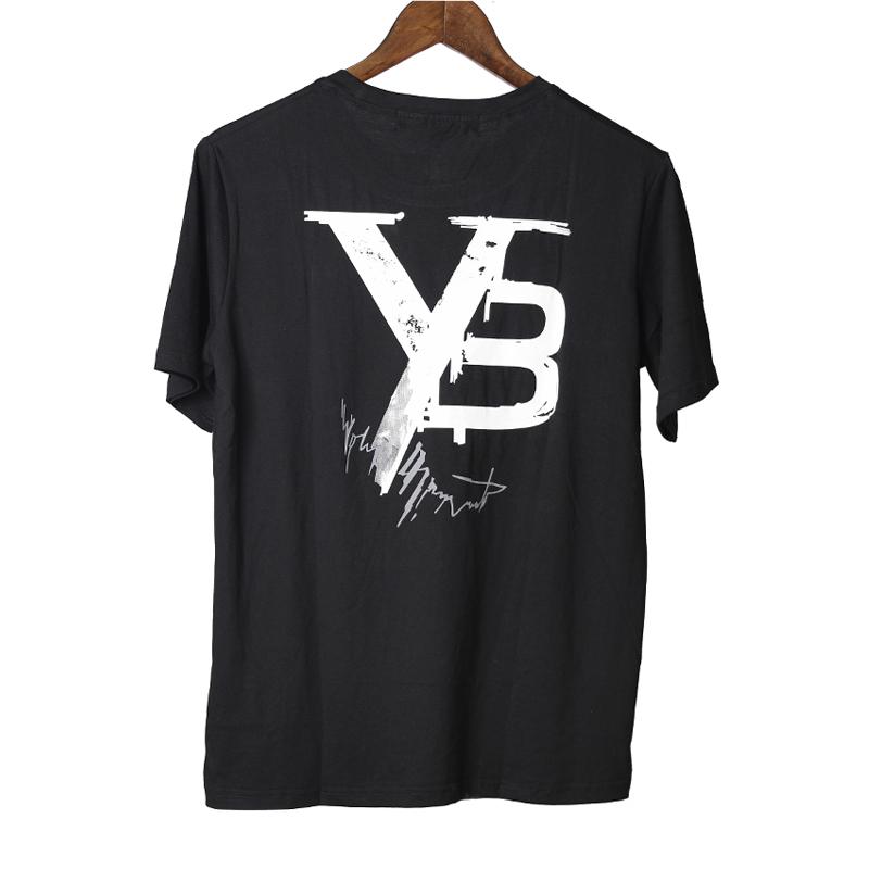潮牌ADDS Y-3新款签名款印花男女宽松短袖T恤%纯棉圆领情侣款上衣