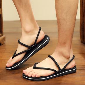 夏季男士拖鞋2020新款人字拖沙滩鞋外穿防滑两用凉鞋男室外凉拖鞋