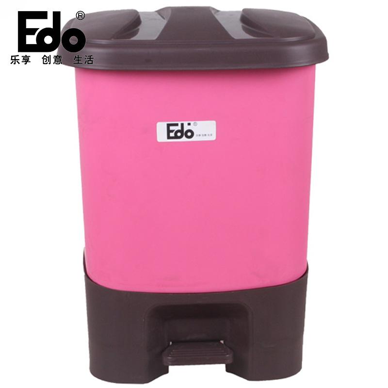 ~天貓超市~EDO8.5L腳踏垃圾桶清潔桶衛生桶ST5026 色