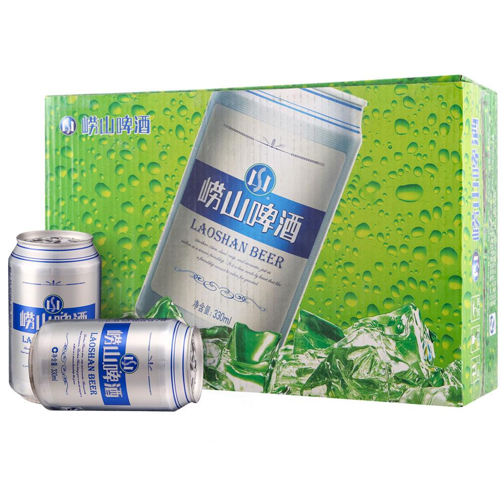 ~天貓超市~青島啤酒 嶗山8度易拉罐330^~24 聽 青島整箱裝
