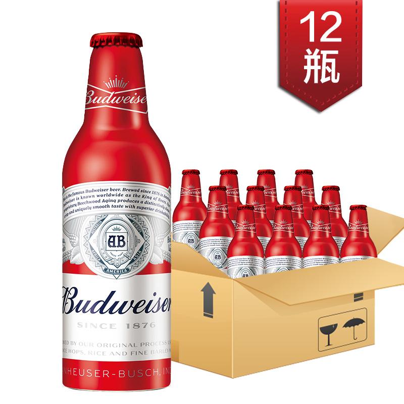 ~天貓超市~Budweiser 百威啤酒 鋁瓶新包裝 355ml^~12瓶 箱