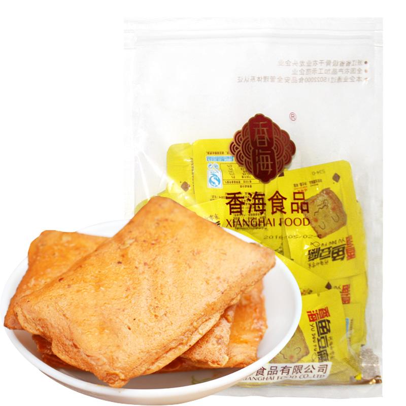 ~天貓超市~香海魚豆腐500g 袋 燒烤味 即食魚豆腐 魚製品