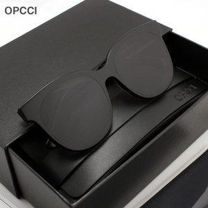 OPCCI GM2019新款男士蹦迪眼镜潮大框防紫外线开车偏光墨镜太阳镜