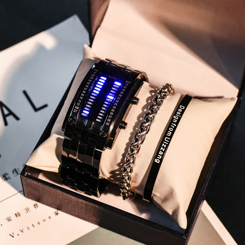 特别的生日礼物女生送男朋友18岁成人礼韩国创意个性抖音情侣手表