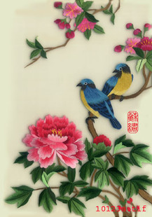 Jiangnan Embroidery Stitch scanning diy kits beginner embroidery Suzhou embroidery handmade duck
