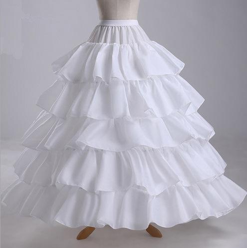 Skirt support four steel rings five lotus leaf enlarged diameter skirt skirt wedding dress