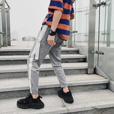 18夏装新款 潮流百搭街头休闲运动裤 A449-1 K41 P50