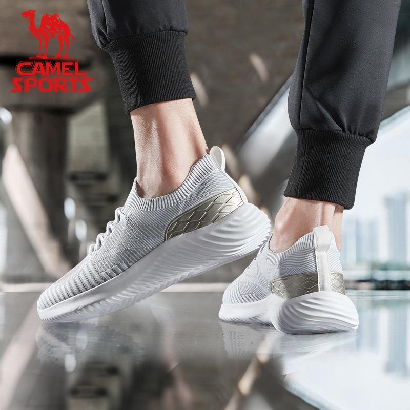 骆驼休闲鞋男士 夏季2020新款时尚轻便男鞋百搭透气流行运动鞋
