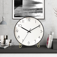 Simple clocks, watches, pendulums, personalized living room clocks, household desktop clocks, Creative Desktop clocks, bedroom mute