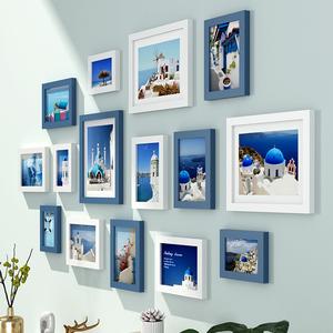 北欧相框墙创意简约装裱装饰画框