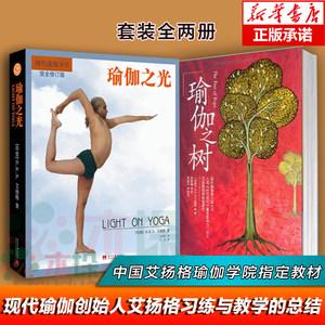 瑜伽之树+瑜伽之光 全两册 艾扬格 瑜伽大师 王晋燕 教程 瘦身 型体塑性 拉伸 健身与保健 时尚美体 适合瑜伽 塑身健身瑜伽 正版