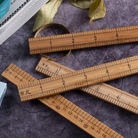 竹尺测量衣服尺子服装裁缝工具木尺1米量衣尺30cm缝纫直尺市尺图片