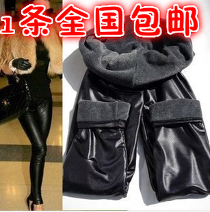 A mink thick velvet leggings light matte leather leggings big yards women have longer