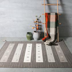 圣瓦伦丁印度进口仿手工打结羊毛地毯现代简约地垫卧室客厅茶几垫