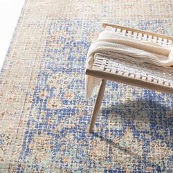圣瓦伦丁波斯地毯美式田园土耳其进口客厅茶几地垫卧室床下毯家用