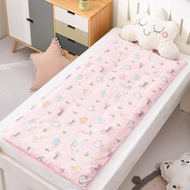 垫被套纯棉定做定制尺寸儿童宝宝单套单件学生90x200褥子棉被套子图片