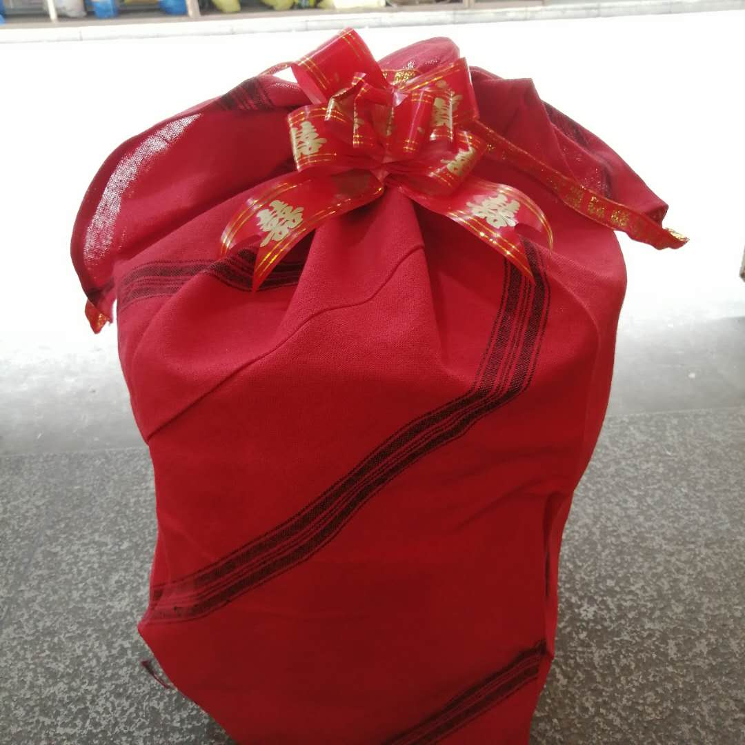 Wenzhou marriage custom: kenaf bag, grandson bag, five generations bag, wedding companion bag, grandson bag, passed down from generation to generation toilet bag