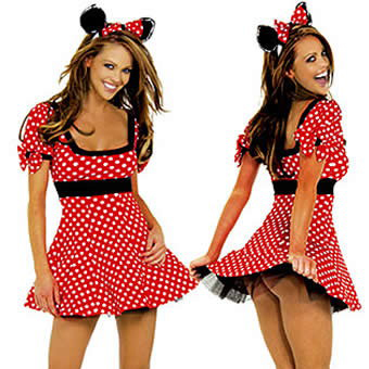 Cosplay sexy uniform tempting Halloween Mickey Mouse nightclub DS performance costume Cosplay Mickey suit