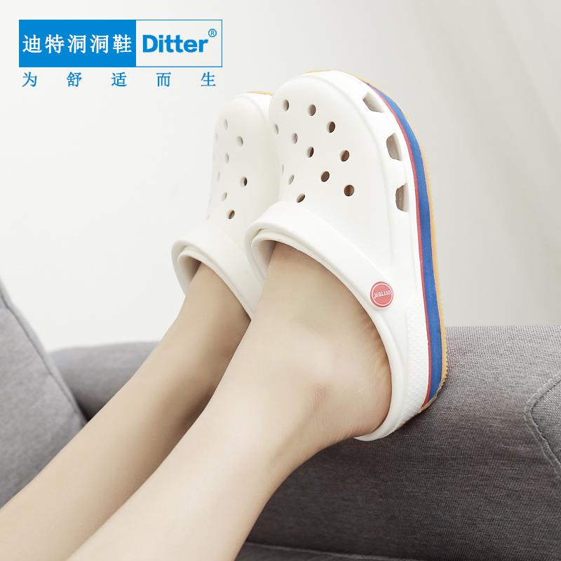 赛途夹趾洞洞鞋