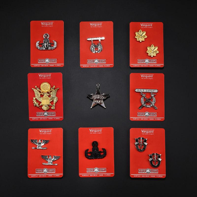 Металл знак сша на открытом воздухе личность полет нарукавная повязка воротник глава эмблемы гонг медаль годовщина глава армия фанатов стандартная грудь знак