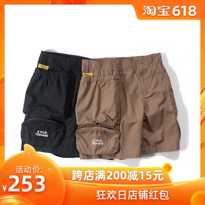 DAKYAM 2019SS Differentiate Pocket Shorts 珠帆格立体口袋短裤