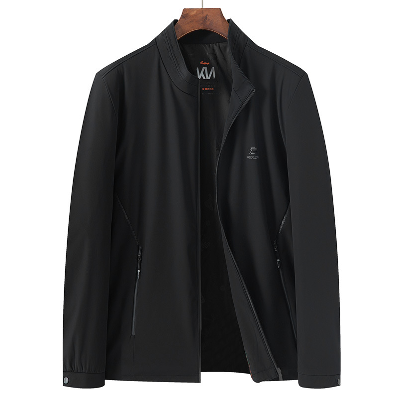 Spring and autumn clothes 2021 fat boy high school student sports jacket extra large plus size fat mans coat