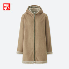Women's Wear Rocker Fleece Cap Overcoat (Long Sleeve) 412388 Uniqlo