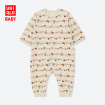 (3 months +) Baby Newborn crimping (long sleeves) 411246 Uniqlo Uniqlo