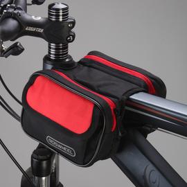 乐炫自行车包前梁包马鞍包车前包骑行包防水山地车装备配件上管包