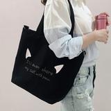 帆布包女单肩斜挎包包ins布袋学生日系文艺简约大容量小清新韩版