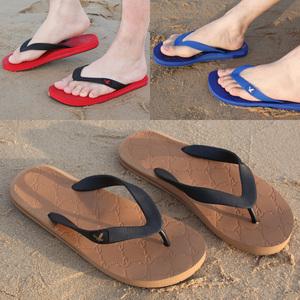 夏季新品男士人字拖男潮防滑休闲时尚橡胶沙滩鞋英伦男鞋子凉拖鞋