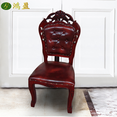 Hotel table and chair banquet chair general chair dining table chair VIP chair restaurant restaurant dining chair chair skin leather soft bag