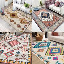 北欧地毯波西米亚客厅茶几垫摩洛哥卧室床边复古欧美式 大面积地垫