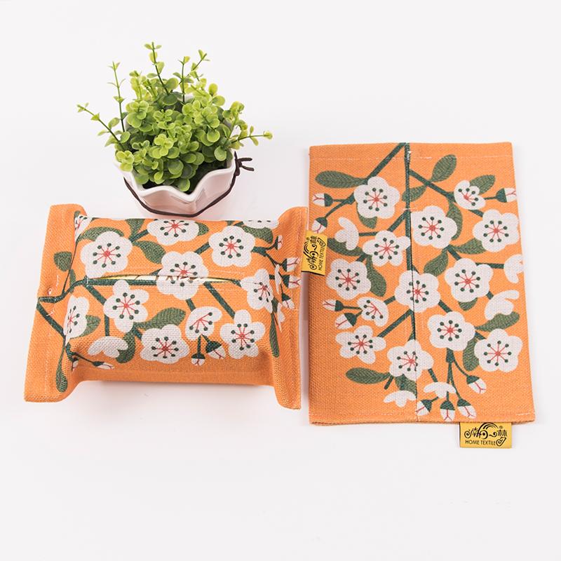 南柯一梦布艺棉麻卡通餐厅纸巾套纸巾包创意卫生间抽纸袋纸巾盒